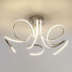 Потолочный светодиодный светильник Eurosvet 90068/5 хром потолочный светодиодный светильник eurosvet 90041 6 хром