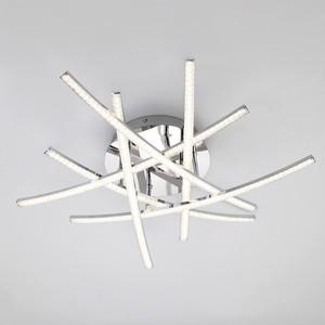 Потолочный светодиодный светильник Eurosvet 90107/6 хром