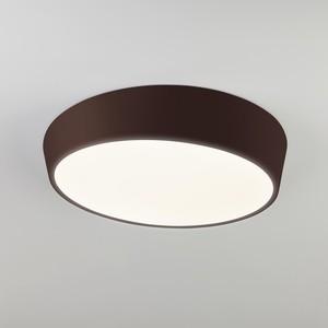 Потолочный светодиодный светильник Eurosvet 90113/1 коричневый