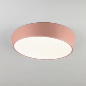 Потолочный светодиодный светильник Eurosvet 90113/1 розовый