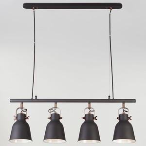 Подвесной светильник Eurosvet 50083/4 черный