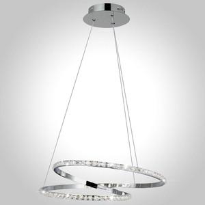 Подвесной светодиодный светильник Eurosvet 90062/2 хром