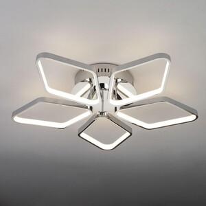 Потолочная светодиодная люстра Eurosvet 90081/5 хром