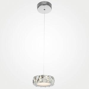 цена на Подвесной светодиодный светильник Eurosvet 90048/1 хром