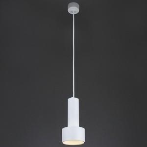 Подвесной светильник Eurosvet 50134/1 LED белый накладной светильник eurosvet sandy 40014 1 led кофе