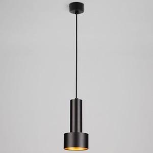 Подвесной светильник Eurosvet 50134/1 LED черный/золото