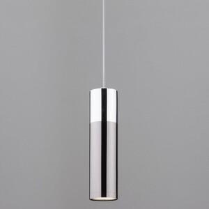 Подвесной светильник Eurosvet 50135/1 LED хром/черный жемчуг накладной светильник eurosvet sandy 40014 1 led кофе