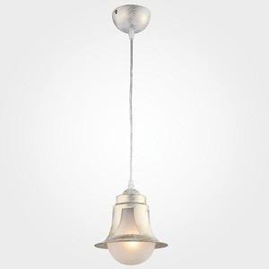 Подвесной светильник Eurosvet 50055/1 белый с золотом цены онлайн