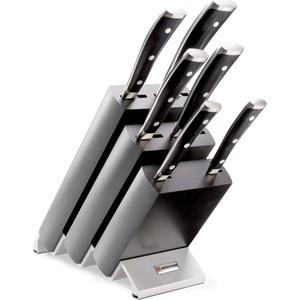 Набор кухонных ножей 7 предметов Wuesthof Classic Ikon (9876 WUS) набор ножей для стейка 6 предметов wuesthof classic 9730
