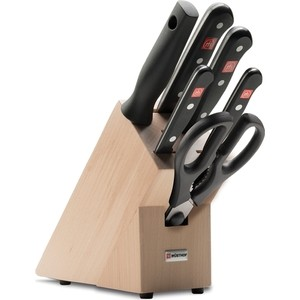 Набор кухонных ножей 7 предметов Wuesthof Gourmet (9867-2)