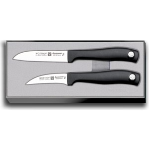 набор для чистки нарезного оружия nimar калибр 16 4 предмета Набор ножей для чистки 2 предмета Wuesthof Silverpoint (9350)