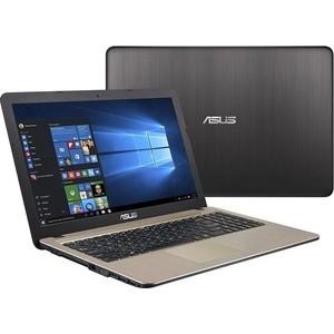Ноутбук Asus X441BA-GA114T (90NB0I01-M02280) Chocolate Black 14 (HD A6 9220/4Gb/1Tb/DVDRW/W10) hp 17 ak040ur [2cp55ea] black 17 3 hd a6 9220 4gb 500gb amd520 2gb dvdrw w10