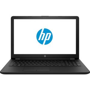Ноутбук HP 15-ra066ur (3YB55EA) black 15.6 (HD Cel N3060/4Gb/500Gb/DVDRW/DOS) ноутбук lenovo thinkpad a475 amd a10 9700b 4gb 500gb 14 0 win 10 pro black