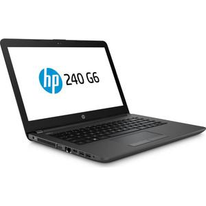 Ноутбук HP 240 G6 (4BC99EA) Silver 14 (HD i3-7020U/4Gb/500Gb/DVDRW/DOS) hp 460 a203ur [4uc35ea] mt pen j3710 4gb 500gb dvdrw dos k m