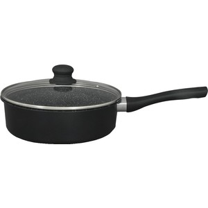 Сковорода с крышкой d 24 см Kelli (KL-4078-24) сковорода d 24 см kukmara кофейный мрамор смки240а