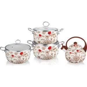 Набор посуды 7 предметов Kelli (KL-4458) набор кухонных принадлежностей 5 предметов kelli kl 2114