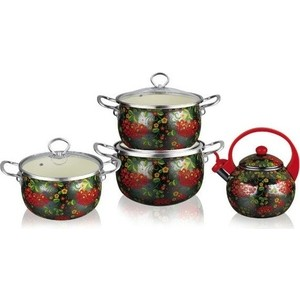 Набор посуды 7 предметов Kelli (KL-4459) набор кухонных принадлежностей 5 предметов kelli kl 2114