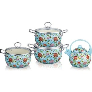 Набор посуды 7 предметов Kelli (KL-4460) набор кухонных принадлежностей 5 предметов kelli kl 2114