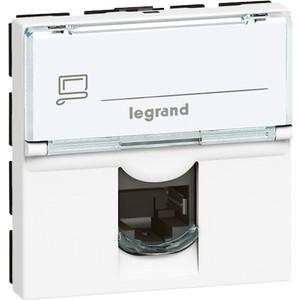 Розетка компьютерная Legrand СП Mosaic RJ45 UTP 6 (076564) цены