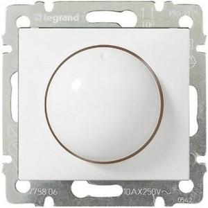 Диммер поворотный Legrand СП Valena 400Вт белый (770061) цена
