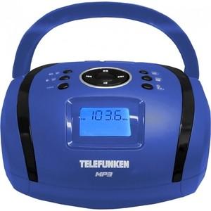 Магнитола TELEFUNKEN TF-SRP3449 blue цена и фото