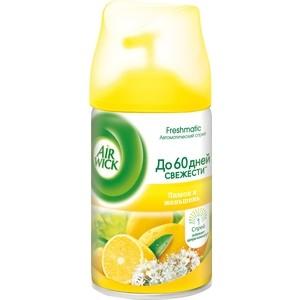 купить Освежитель воздуха Airwick FRESHMATIC Лимон и женьшень, сменный баллон 250 мл недорого
