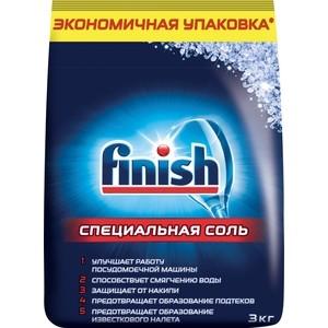 Соль для посудомоечной машины (ПММ) Finish 3 кг порошок для посудомоечной машины пмм somat classic 3 кг