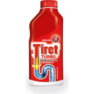 Гель Tiret TURBO для удаления засоров в трубах, 500 мл
