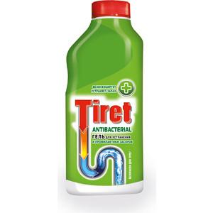 Гель Tiret Antibacterial для удаления и профилактики засоров в трубах, 500 мл