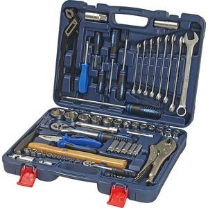 купить Набор инструментов KORUDA 1/2''DR 1/4''DR 72 предметов (KR-TK72) по цене 6826 рублей