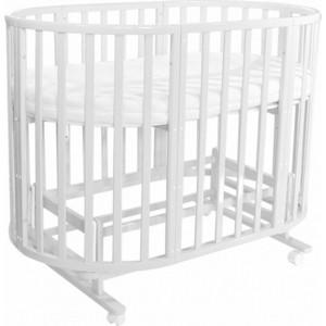 Кроватка Everflo Allure 7 в 1 C маятником milk ES-008 (ПП100004168)
