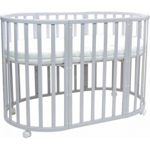 Кроватка Everflo Allure gray ES-008 (ПП100004142)