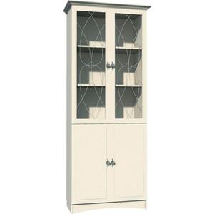 Шкаф комбинированный Сильва НМ 009.23 прованс белый