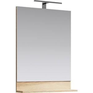 Зеркало Aqwella Foster 60x80 дуб сонома (FOS0206DS)