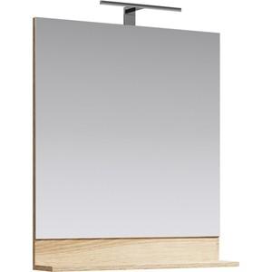 Зеркало Aqwella Foster 70x80 дуб сонома (FOS0207DS)