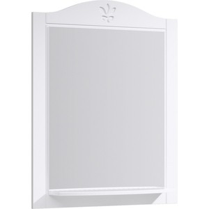 Зеркало Aqwella Franchesca 75x93 белое (FR0207)
