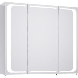 Зеркальный шкаф Aqwella 5 Stars Milan 80x70 белый (Mil.04.08)