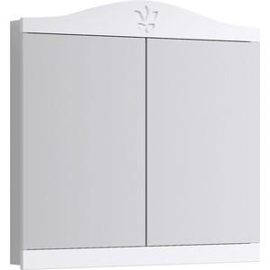 Зеркальный шкаф Aqwella Franchesca 85x94 белый (FR0408)