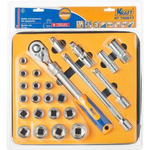 Набор инструментов Kraft 1/2 Dr 25 предметов (KT 700617)
