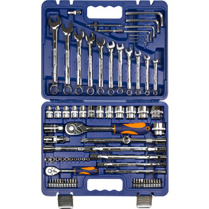 Набор инструмента HELFER 1/2Dr и 1/4Dr 77 предметов (HF000015)