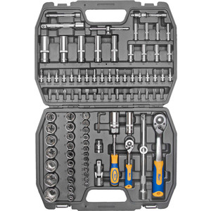 Набор инструментов Kraft 1/2 Dr и 1/4 94 предмета (KT 700306)