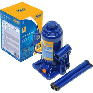 цена на Домкрат бутылочный гидравлический Kraft 10т 205-400мм (KT 800018)