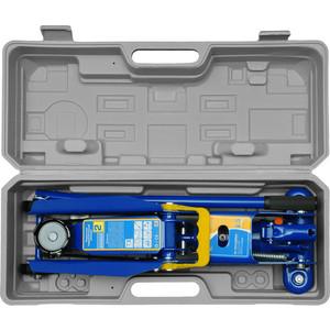 Домкрат подкатной гидравлический Kraft 2.5т (в кейсе) (KT 820003)
