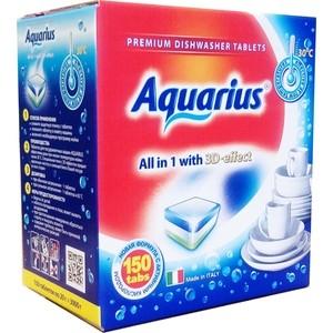 Таблетки для посудомоечной машины (ПММ) Aquarius All in 1, 150 шт