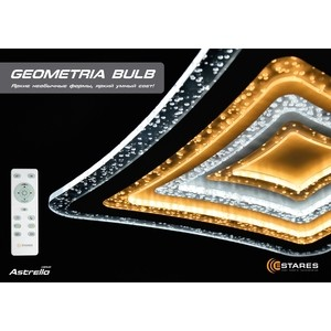 цена на Управляемый светодиодный светильник Estares GEOMETRIA BULB 90W S-500-CLEAR/BULB-220-IP44