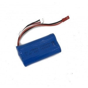 цена Аккумулятор WL Toys Li-Ion 7.4v 2000mah JST - WL912-25-2000