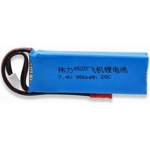 Аккумулятор XK-Innovation Li-Po 7.4V 950 mAh - X520-01