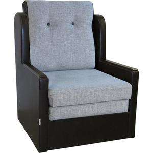 Фото - Кресло-кровать Шарм-Дизайн Классика Д шенилл серый тахта шарм дизайн классика 100 шенилл коричневый