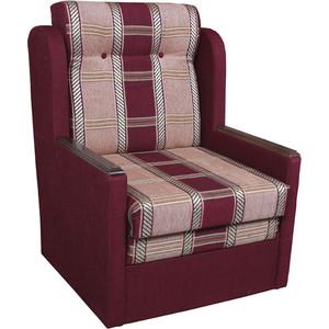Кресло-кровать Шарм-Дизайн Классика Д шенилл/бордовый