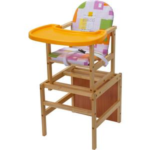 Фото - Стульчик для кормления ПМДК Гулливер с пластиковой столешницей модерн (УТ0010387) стульчики для кормления пмдк премьер